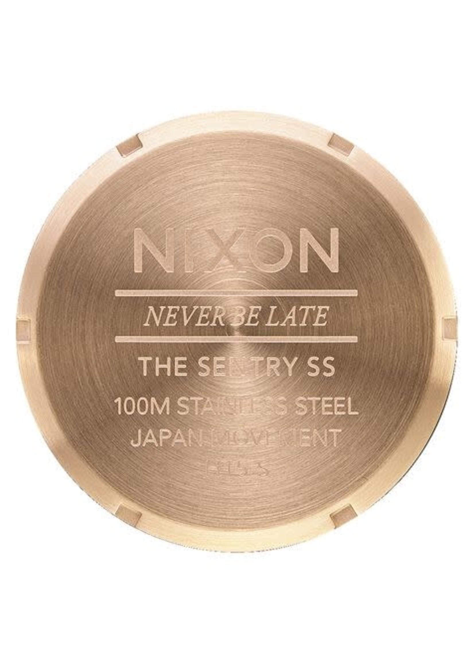 NIXON SENTRY SS Gold/ White