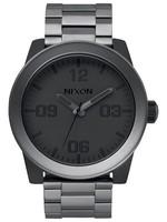 NIXON CORPORAL watch, MATTE Black/ MATTE gunmetal