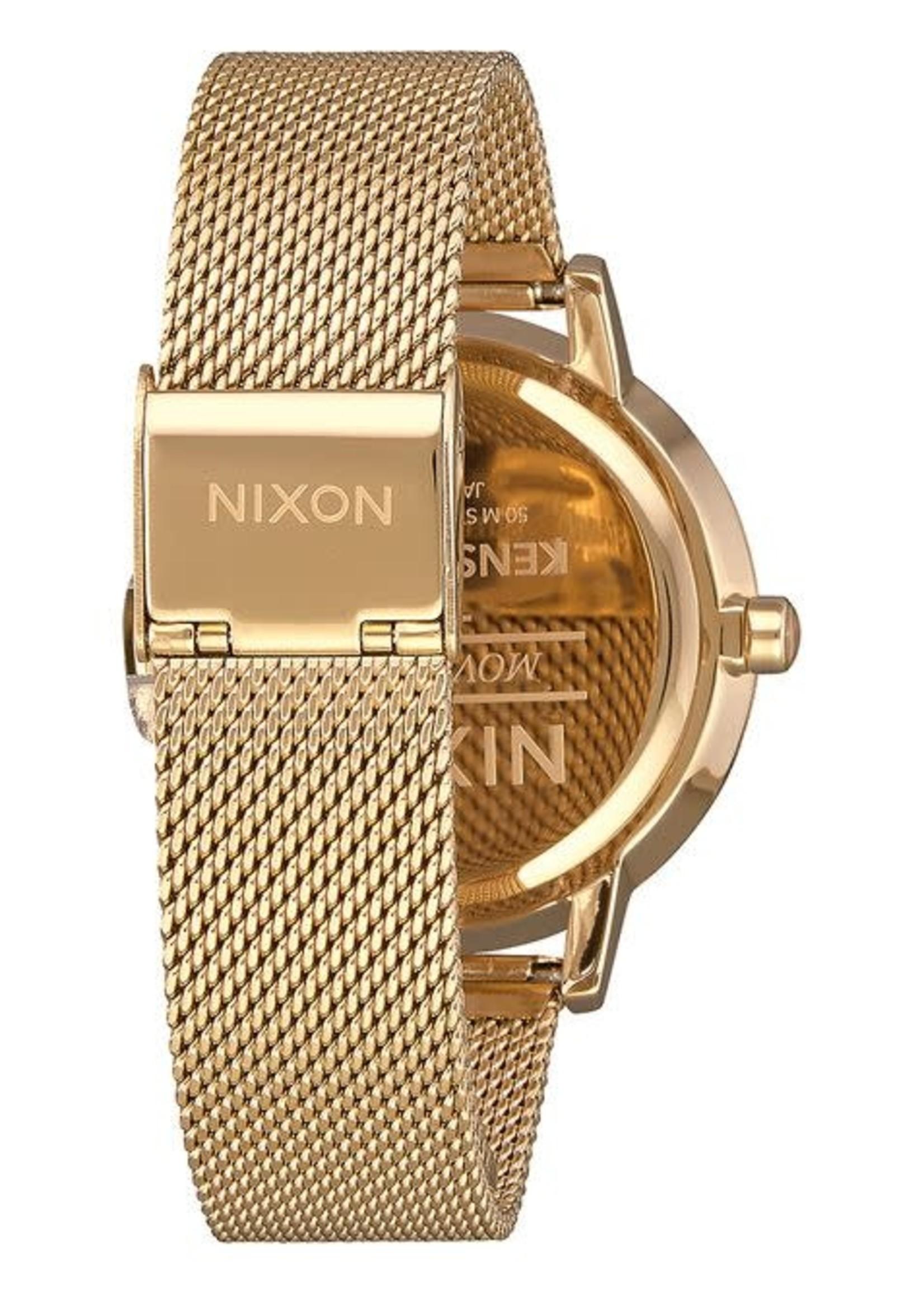NIXON KENSINGTON Milanese, All Gold