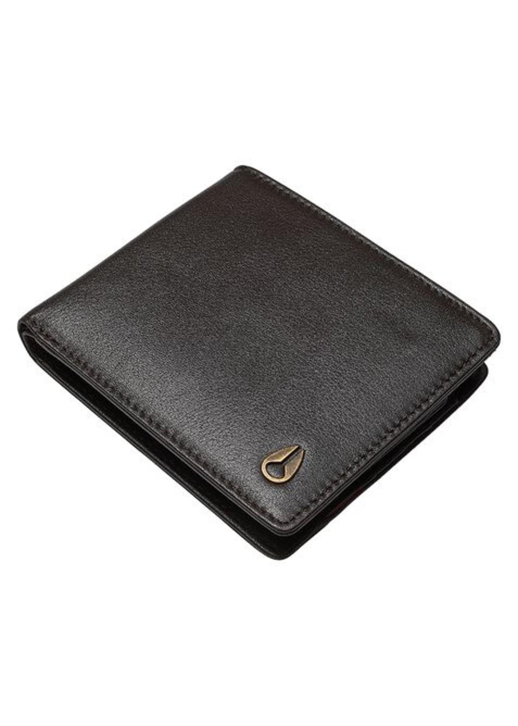 NIXON PASS Leather Wallet, Brown