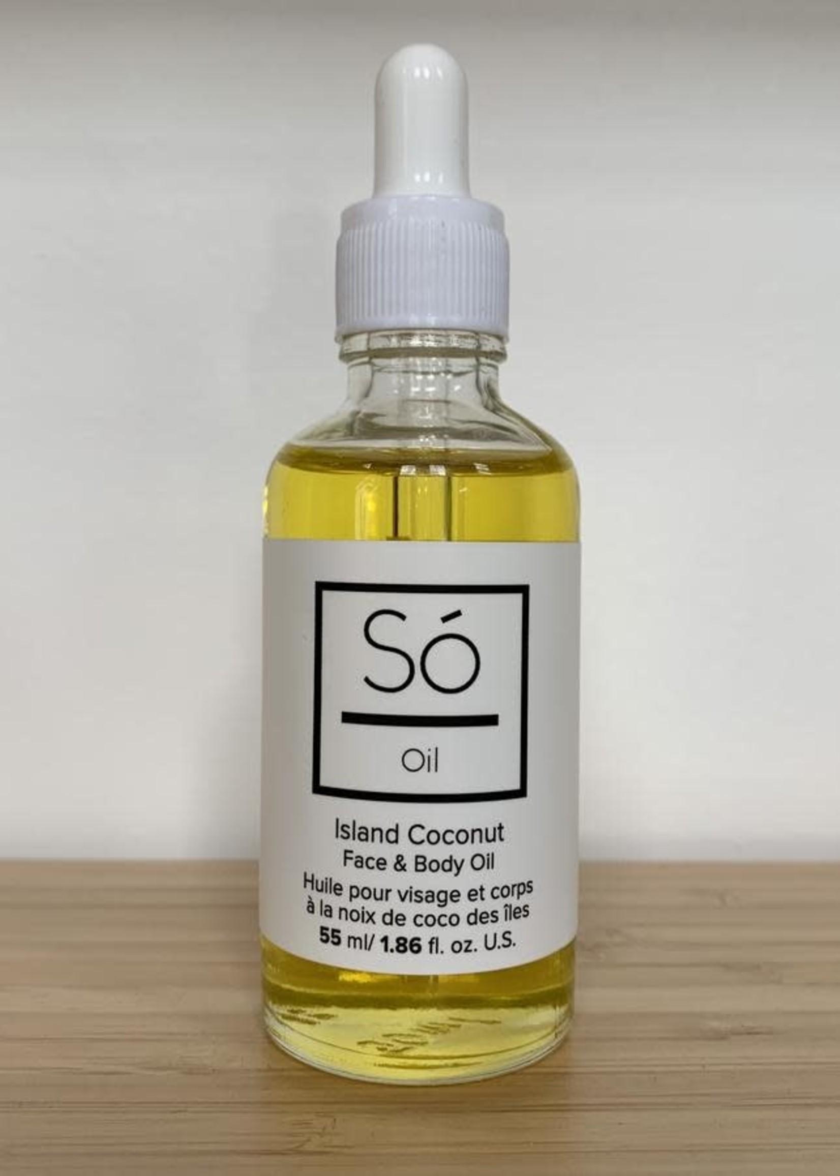Só LUXURY Face + Body Oil ISLAND COCONUT 55ml