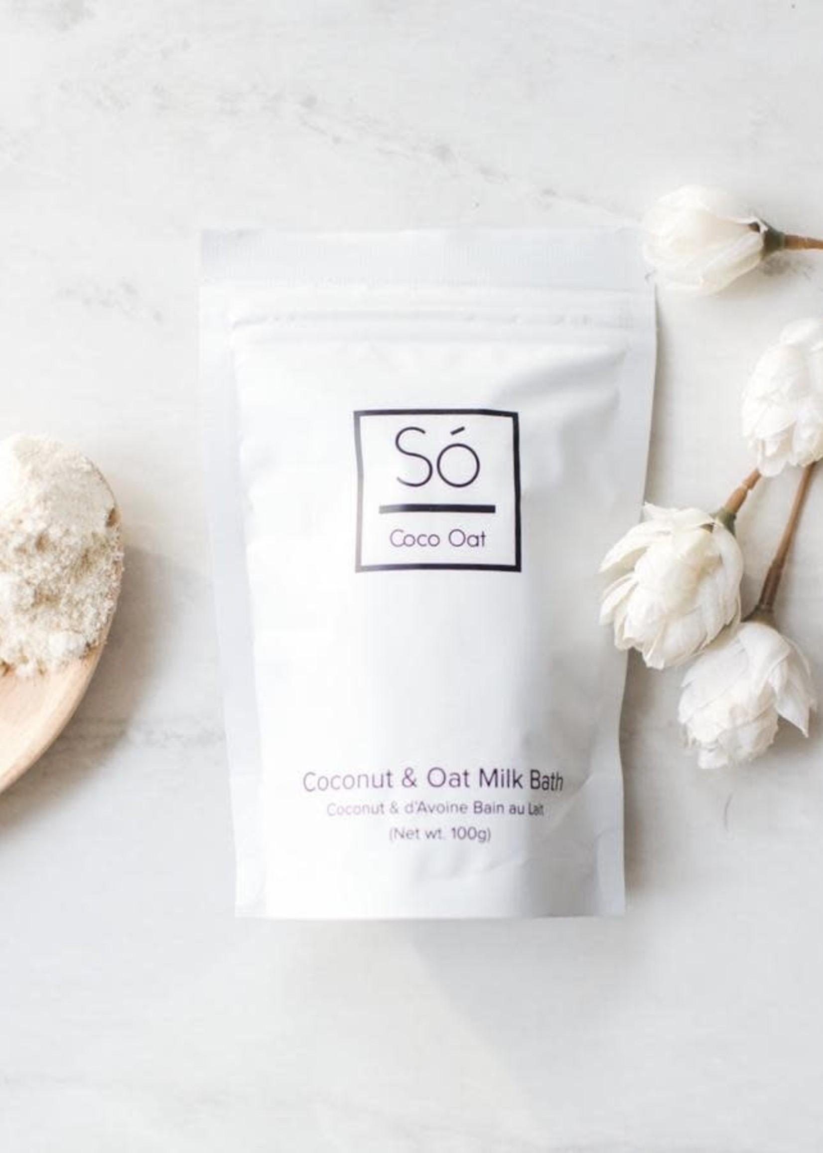 Só LUXURY Coconut + Oat Milk Bath