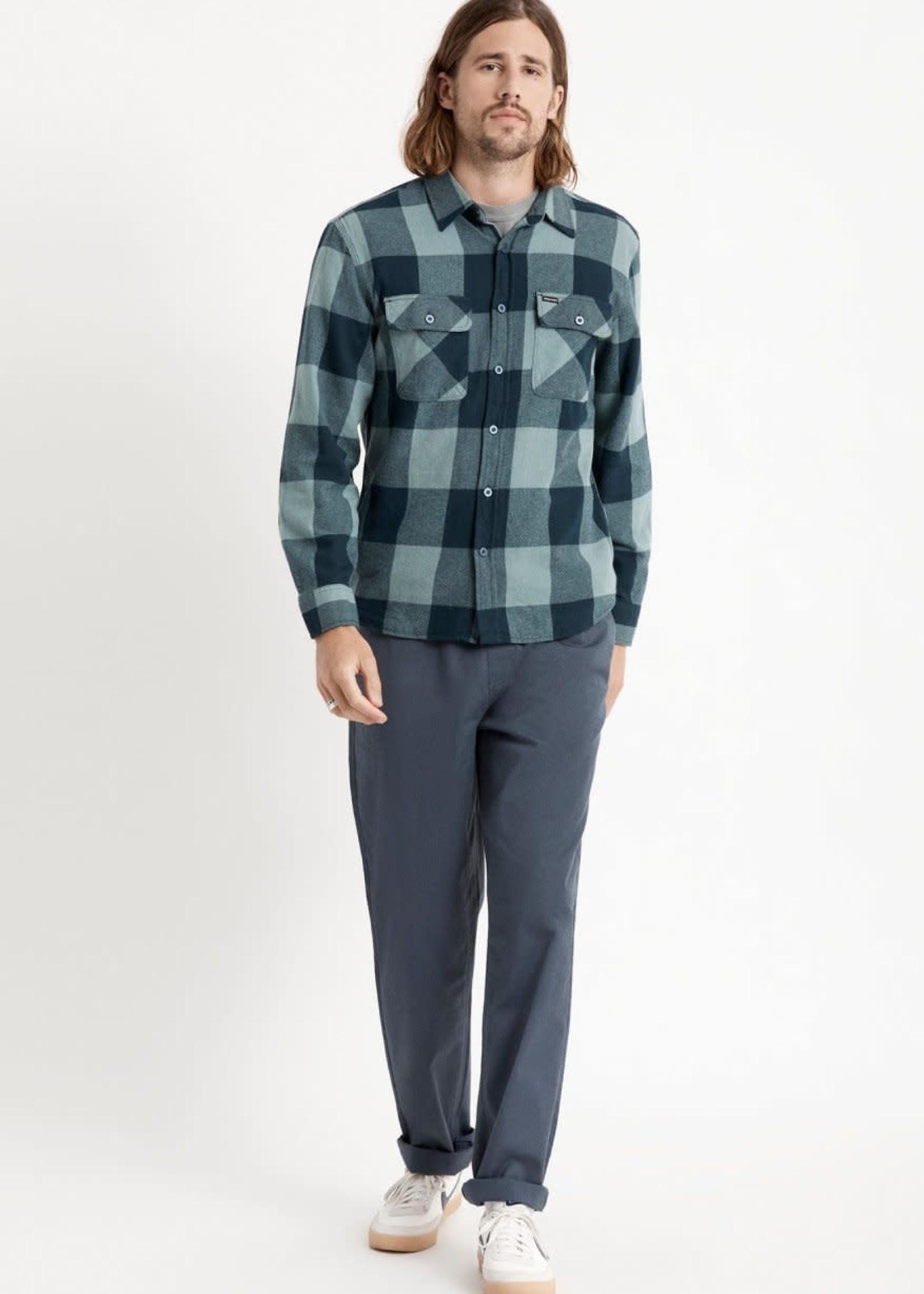 BRIXTON Bowery Lightweight L/S Flannel