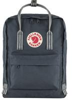 FJALL RAVEN Kanken Backpack NAVY-LONG STRIPES