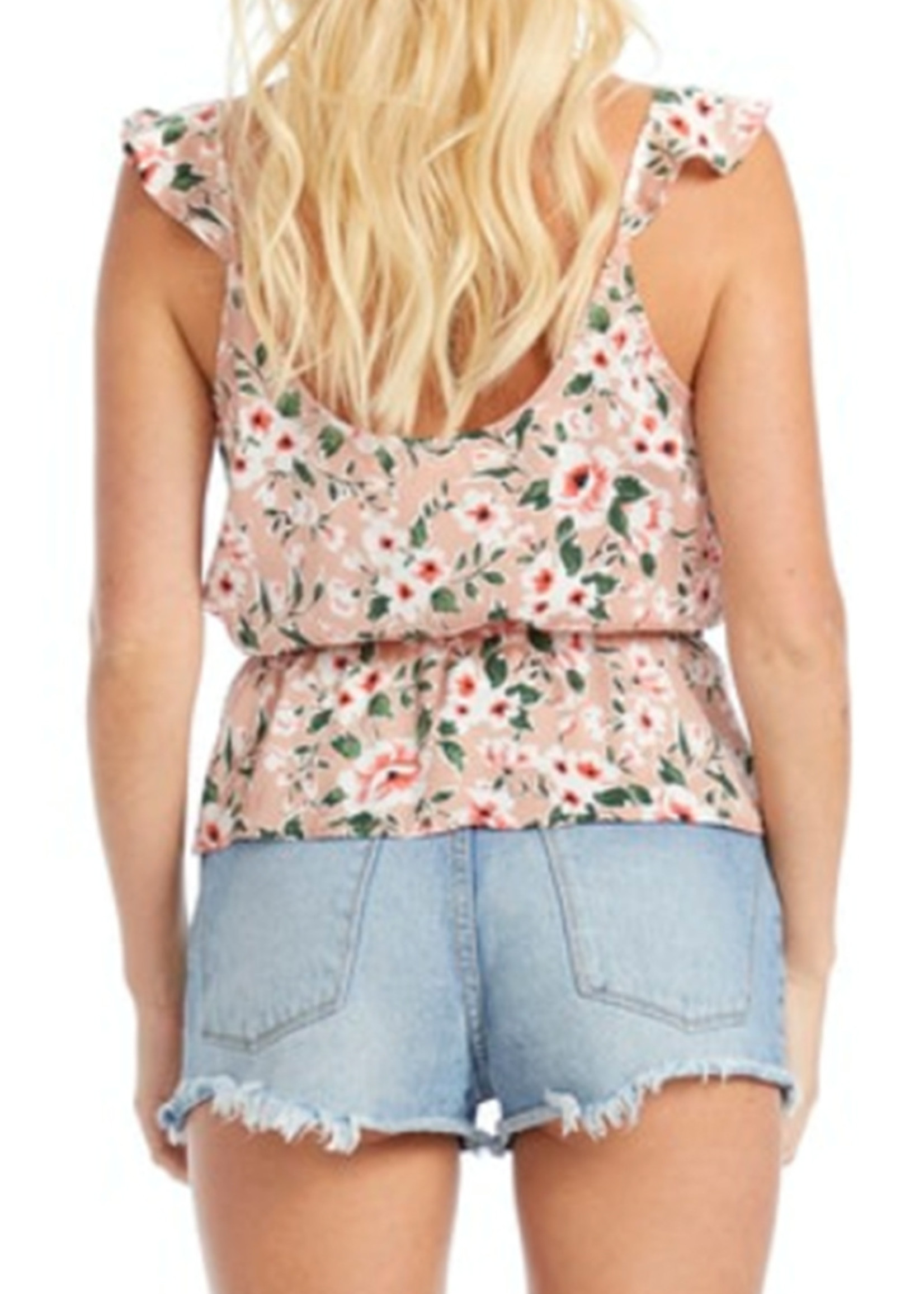 SALTWATER LUXE Cherry Blossom Blouse