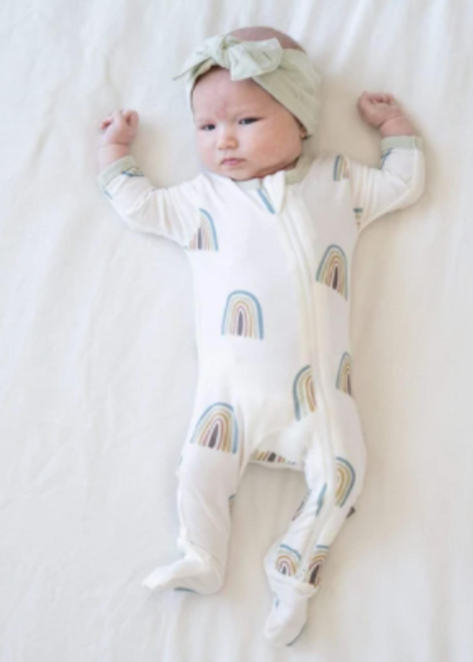 KYTE BABY Printed Zipper Footie