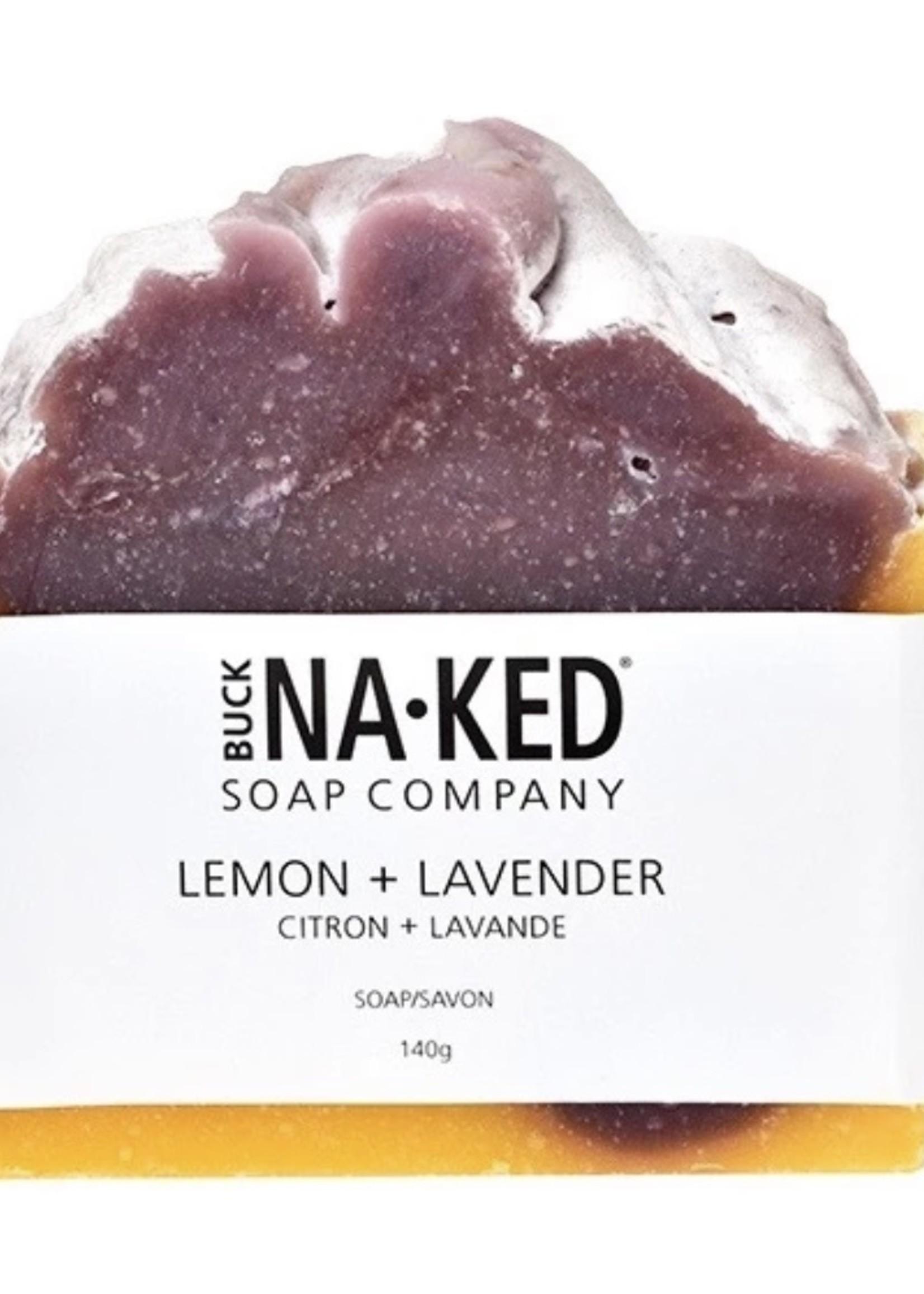 BUCK NAKED Lemon + Lavender SOAP