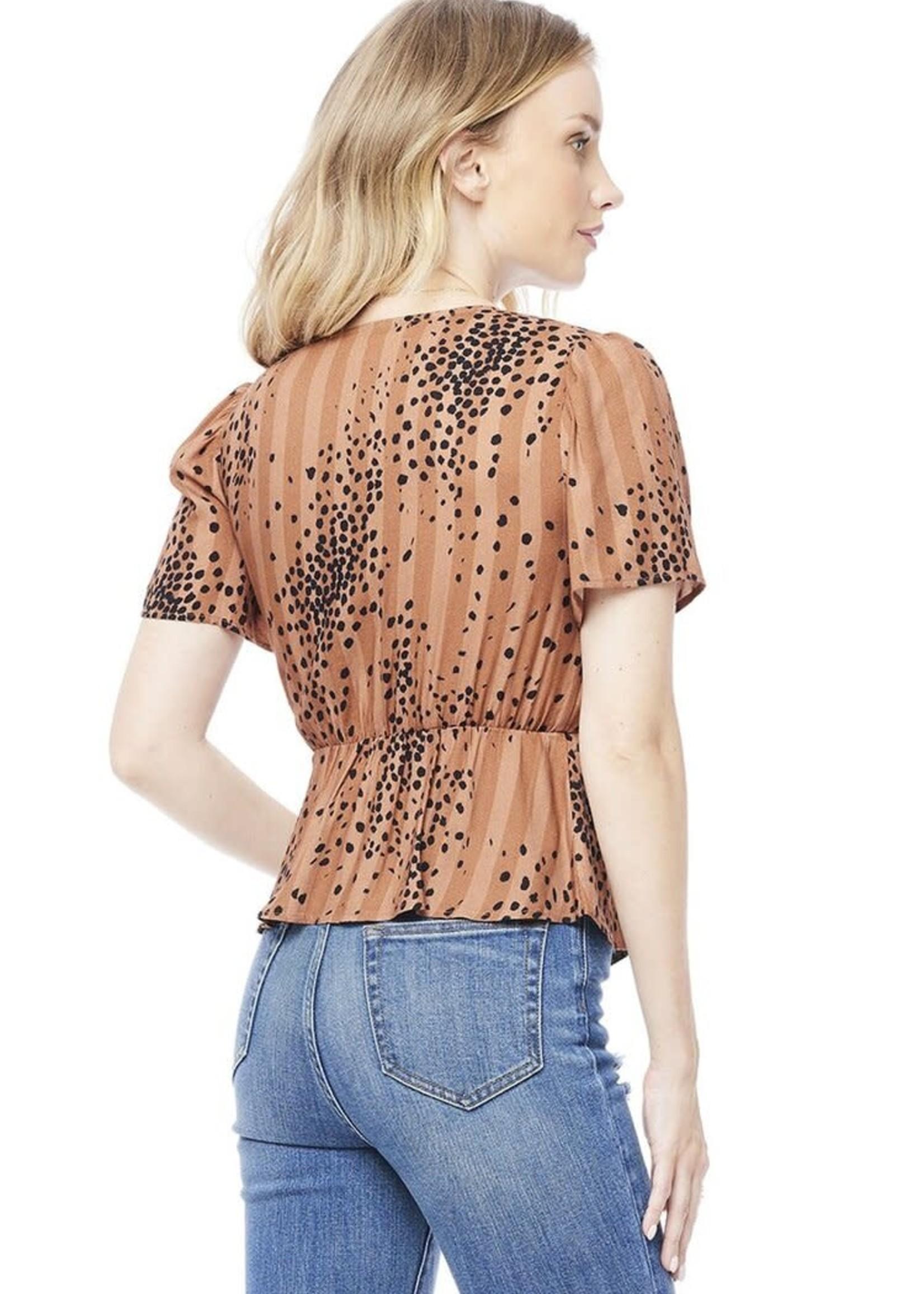 SALTWATER LUXE CINNAMON blouse