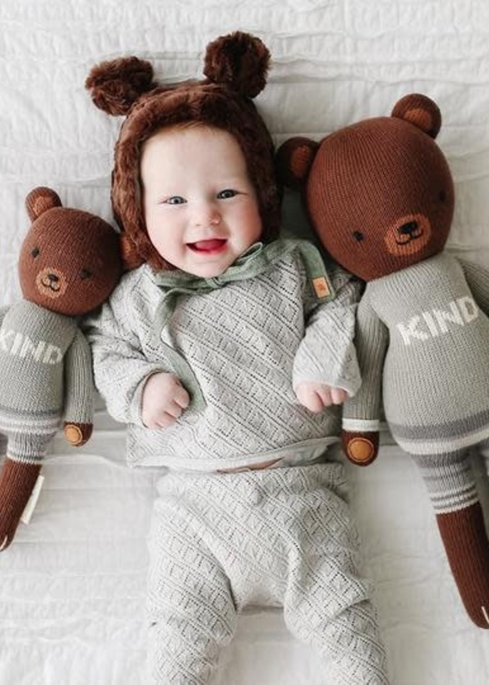 cuddle + kind Knit Doll OLIVER the bear