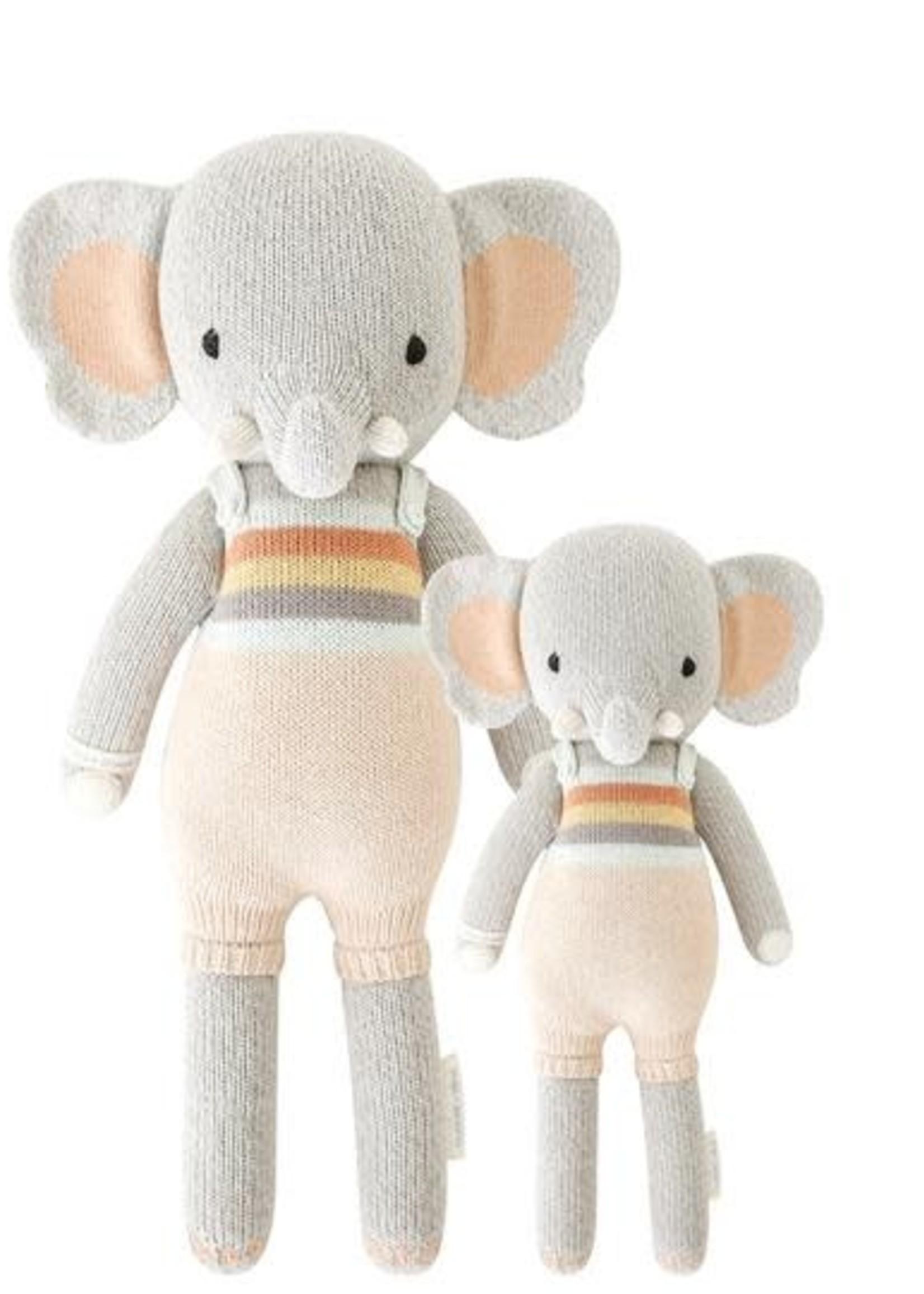 cuddle + kind Elephant Knit Doll EVAN