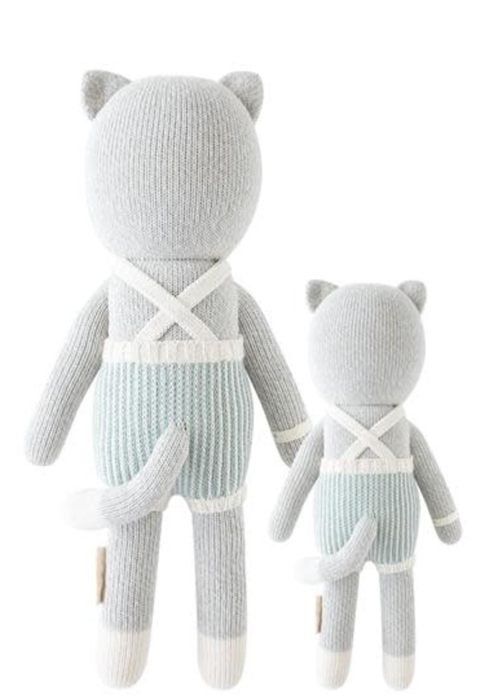 cuddle + kind Kitten Knit Doll DYLAN