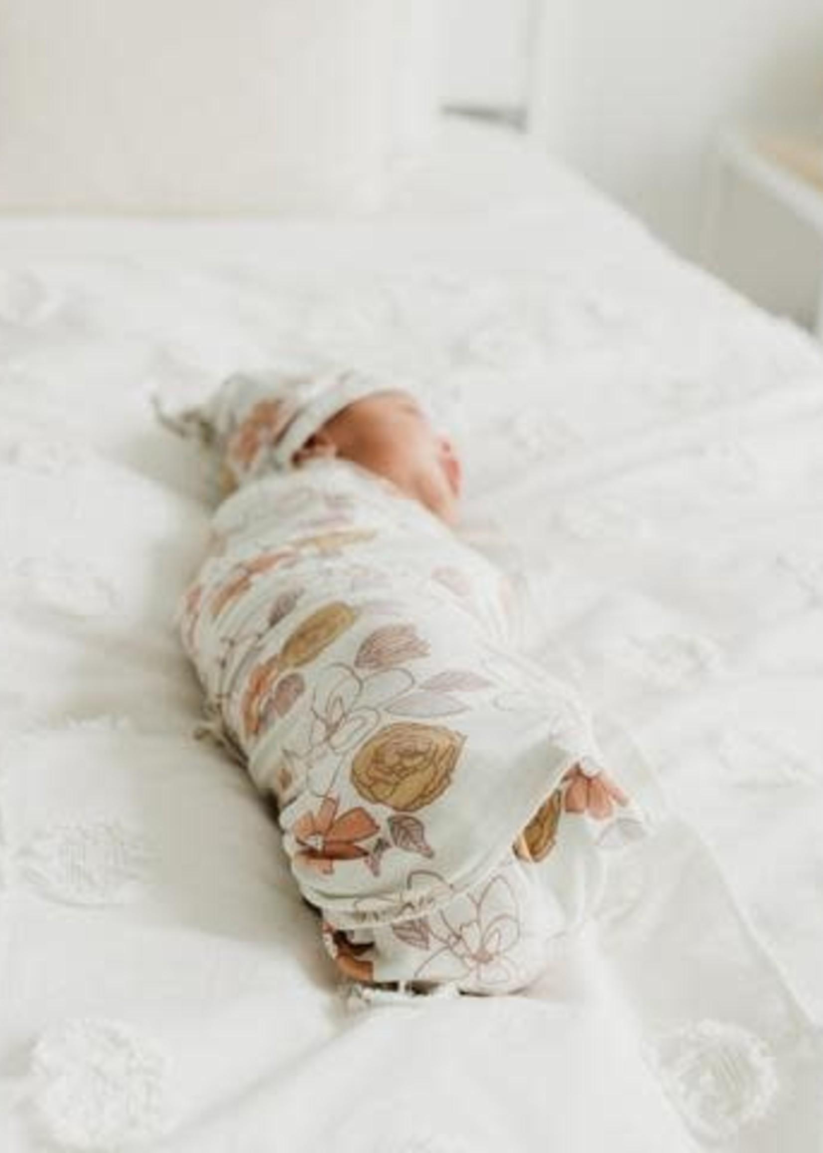 COPPER PEARL FERRA Swaddle Blanket