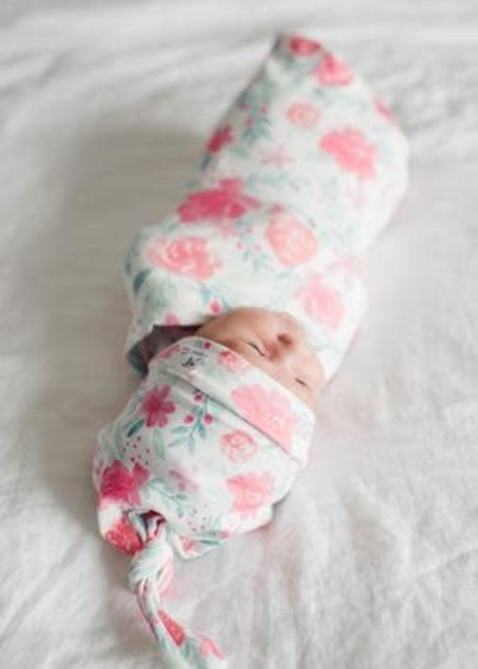 COPPER PEARL JUNE Swaddle Blanket