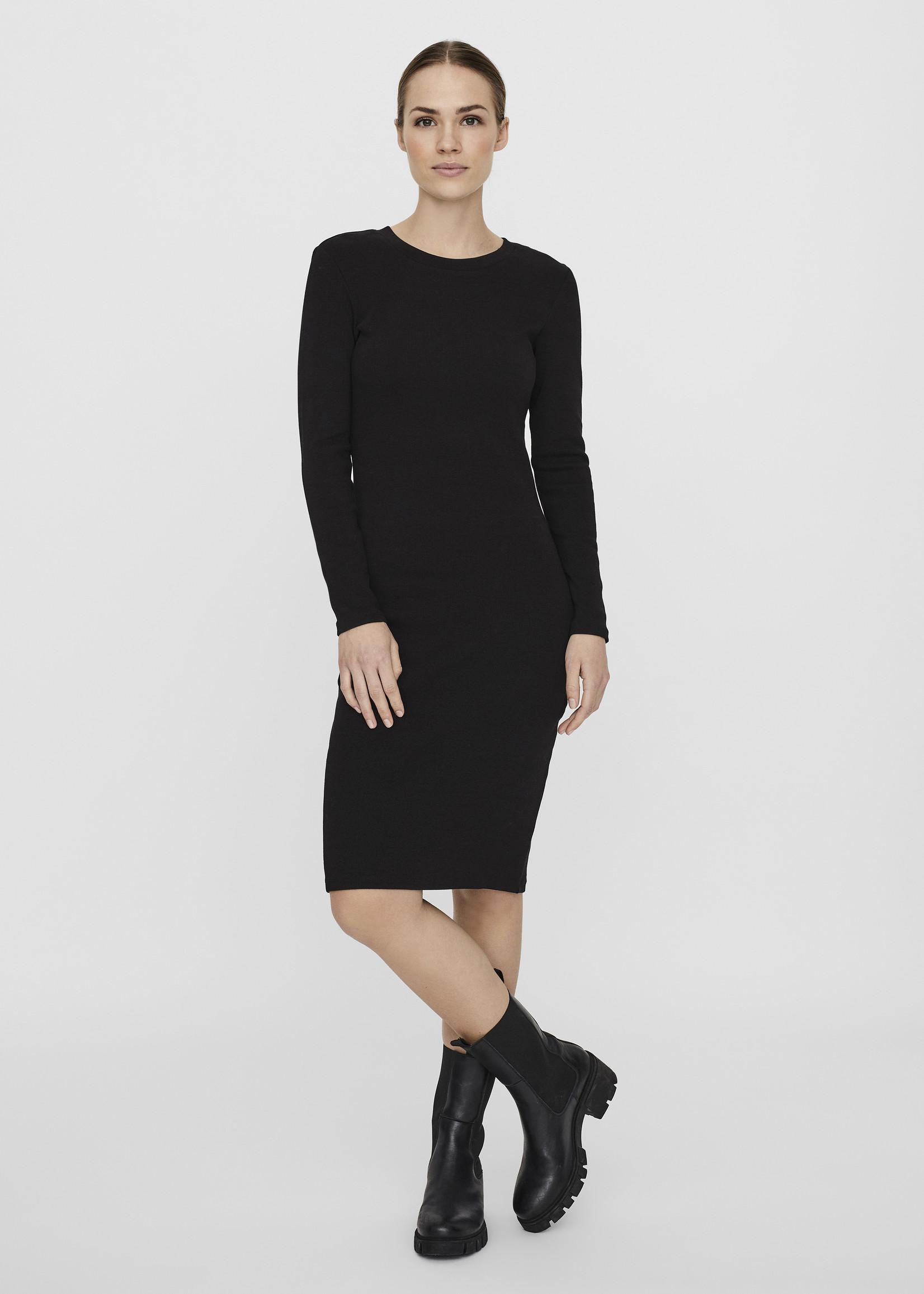 VERA MODA Natasha Long Sleeve Bodycon Dress