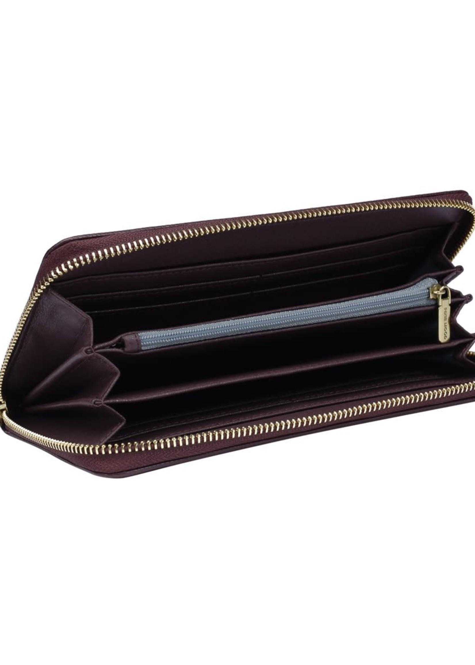 PIXIE MOOD EMMA Ziparound Wallet WINE