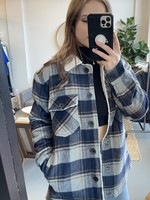 RD STYLE Shearling Plaid Jacket
