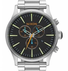NIXON Sentry Chrono watch , black/ multi