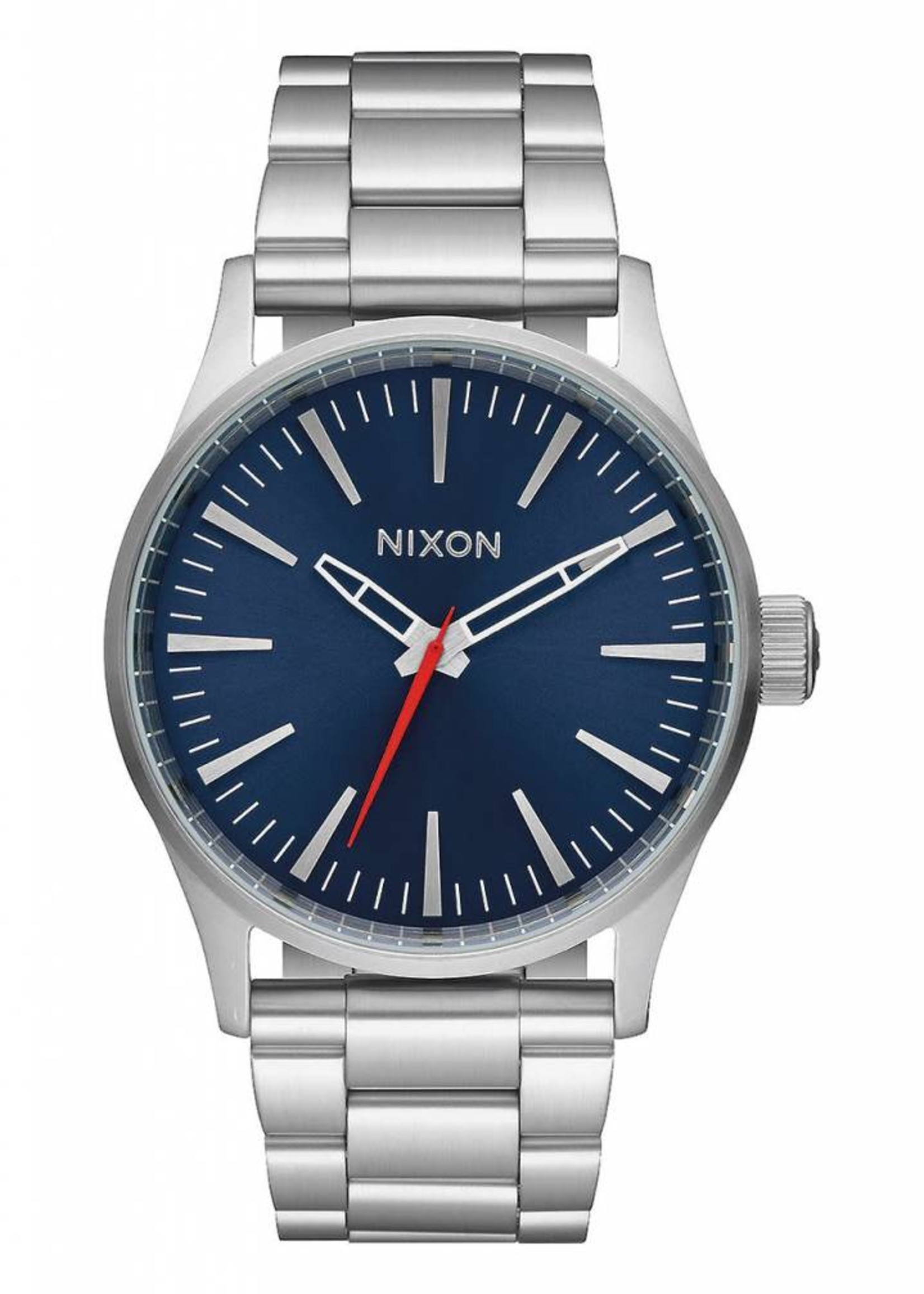 NIXON Sentry Watch,  38 SS, blue sunray