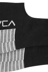 RVCA Hidden sock, BLACK with logo