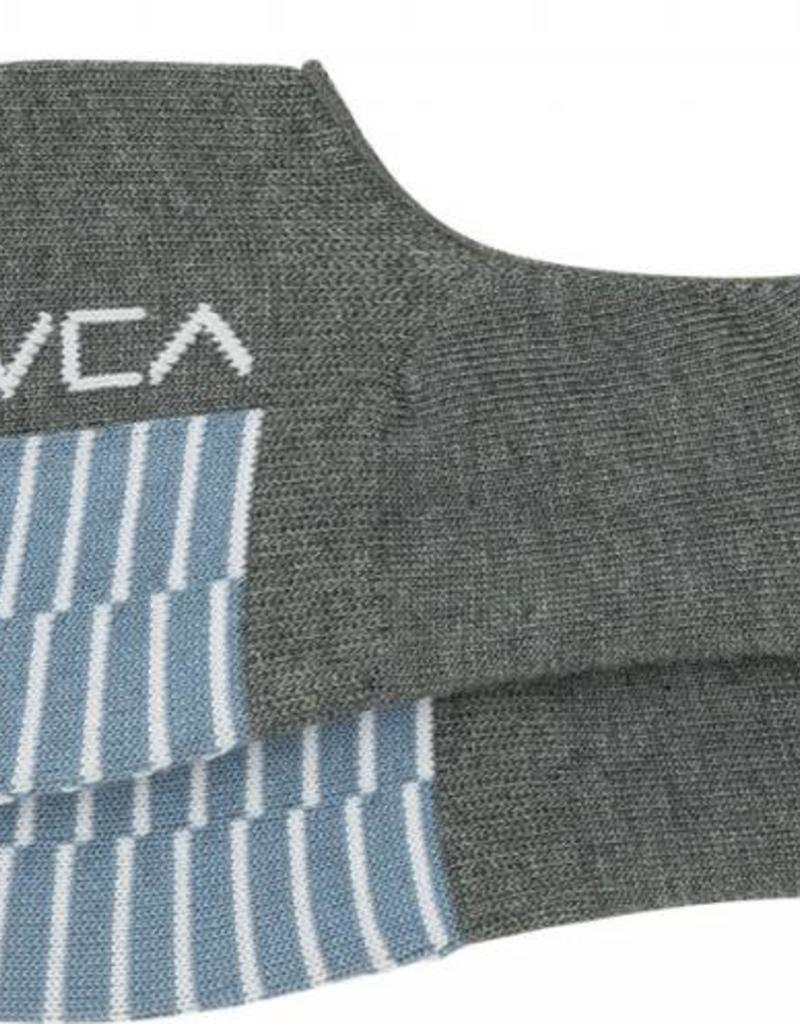 RVCA Hidden sock, GREY/BLUE