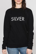 BRUNETTE  the label SILVER Crew, BLACK