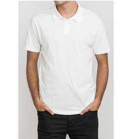 RVCA Sure Thing Polo, WHT or BLUE