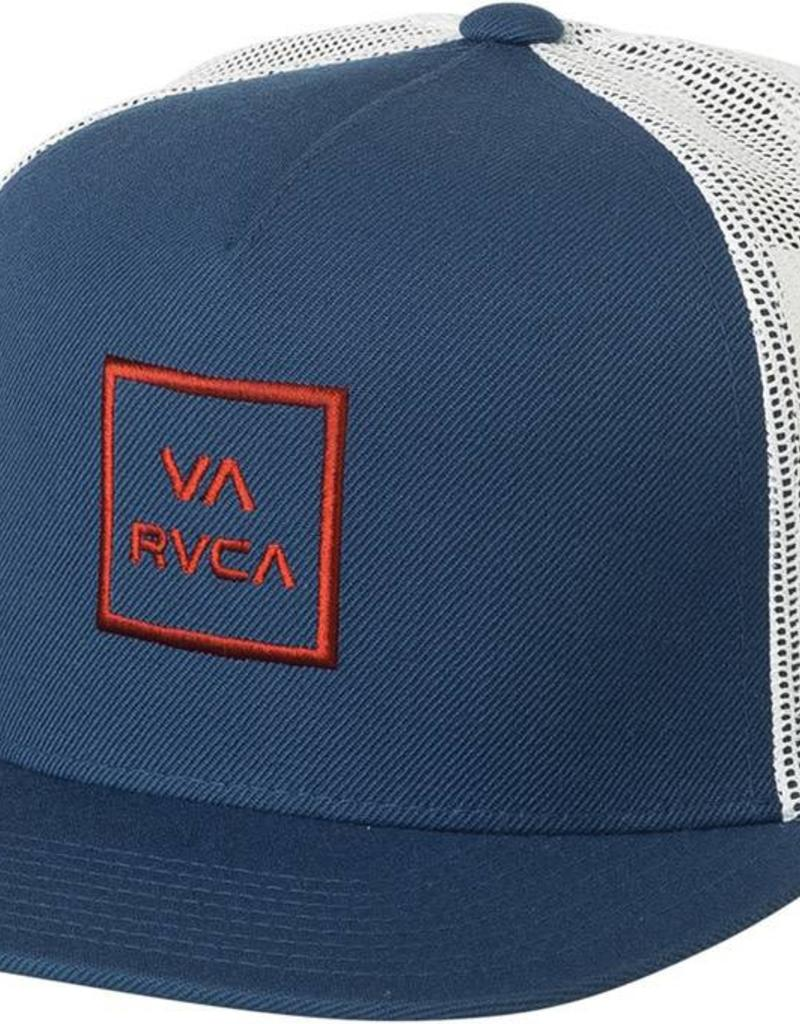 RVCA VA all the way trucker, WHT/BLU