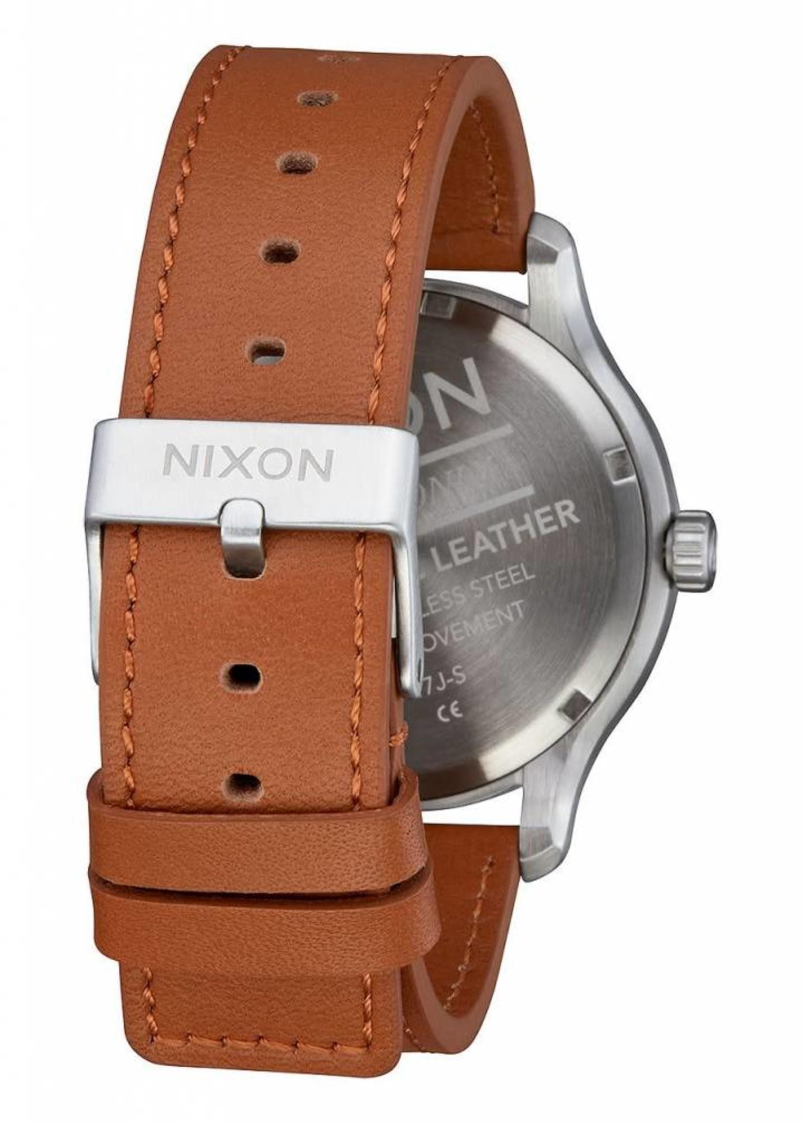 NIXON Patrol Leather, NAVY/SADDLE