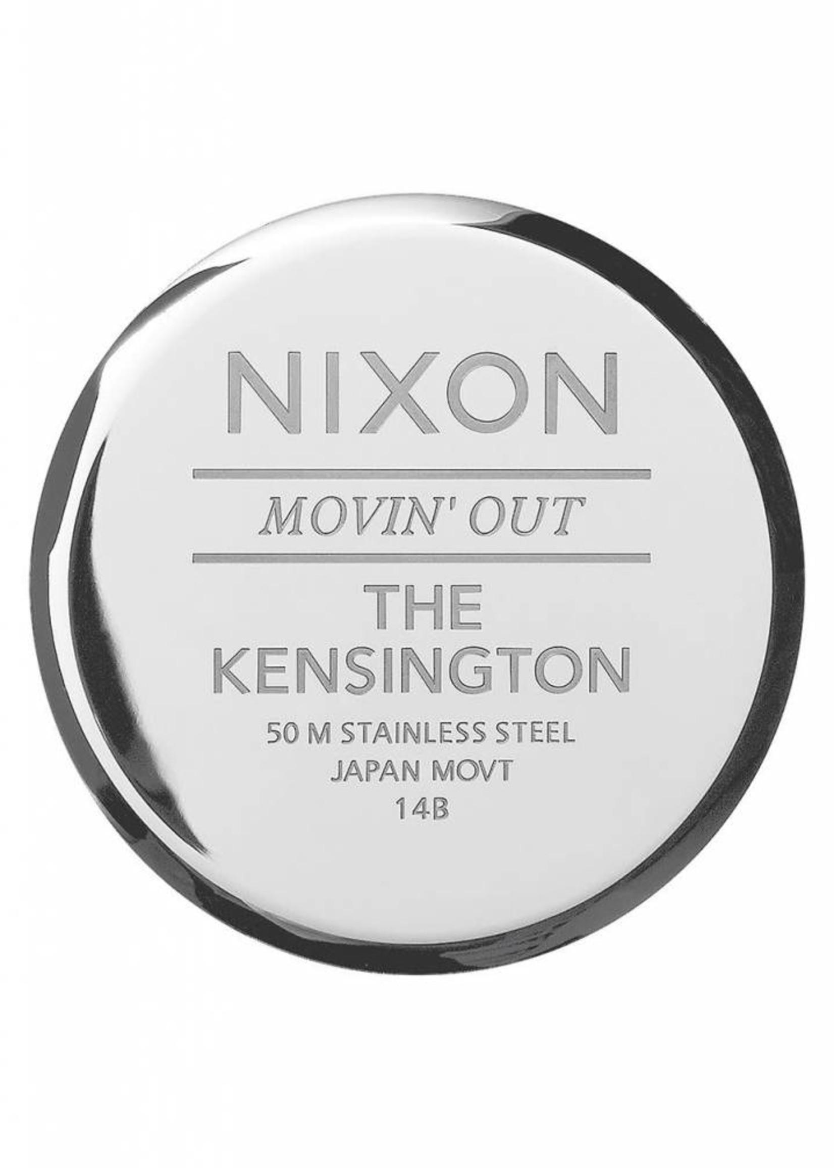 NIXON Kensington, SILVER/ WHITE/ ROSE GOLD