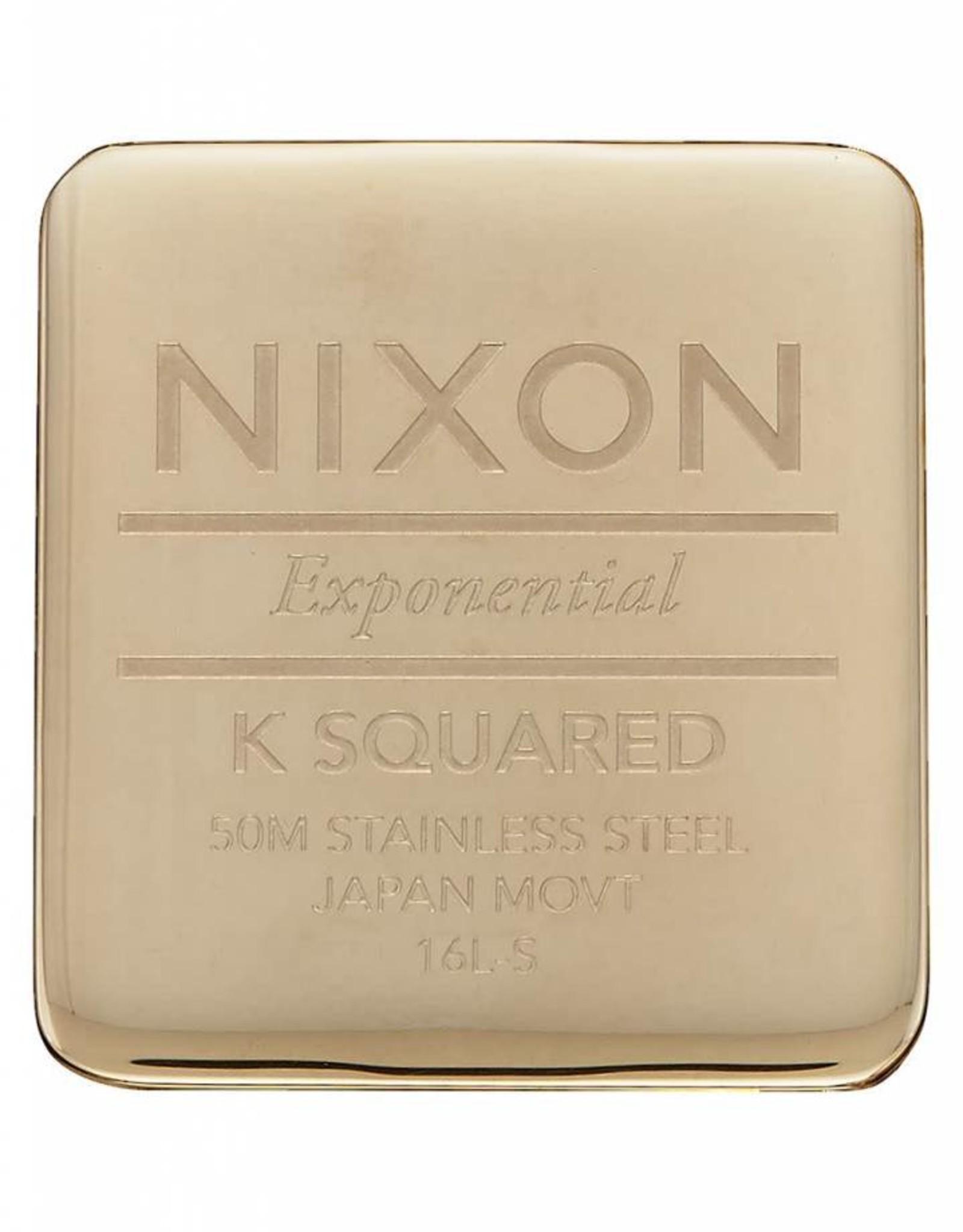 NIXON K Squared Milanses, GOLD
