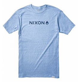 NIXON Basis Tee, Royal Heather.