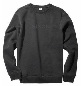 NIXON Wordmark Crew Black