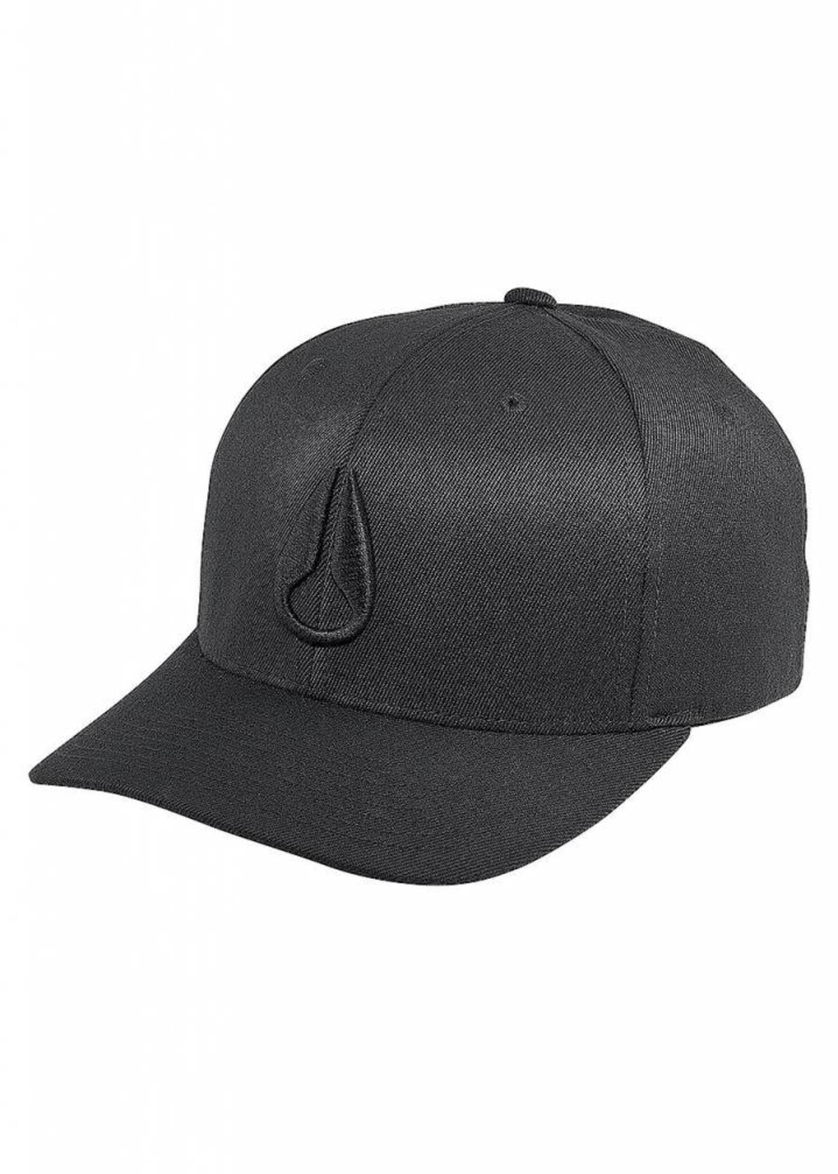 NIXON  Deep Down FF Hat, All Black