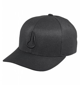 NIXON Deep Down FF Hat, All Black