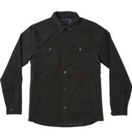 RVCA Utility Shirt Jacket, Ash Grey