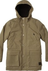 RVCA  Ground Control Parka, Olive.