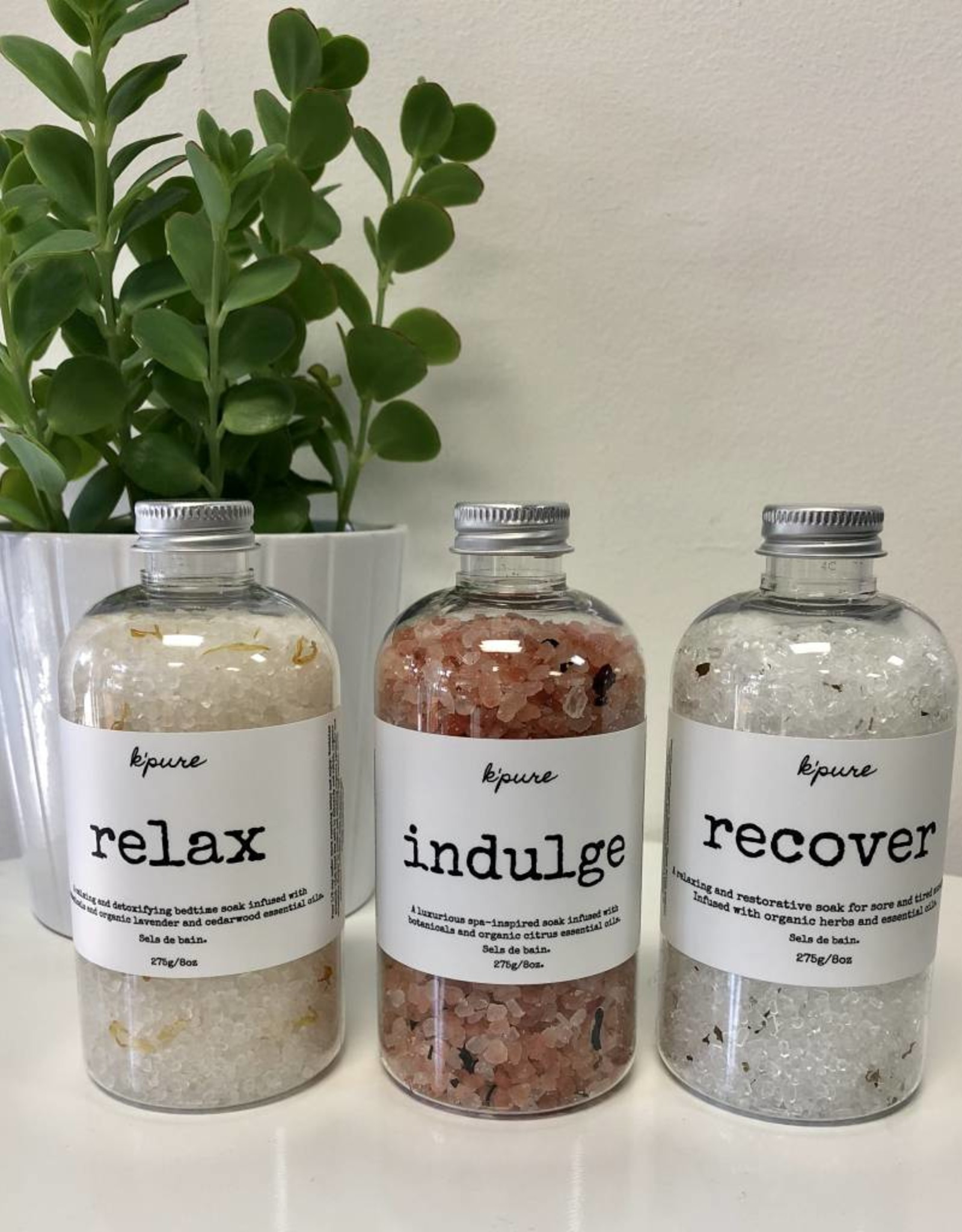 K'PURE RELAX bath salt, 8oz