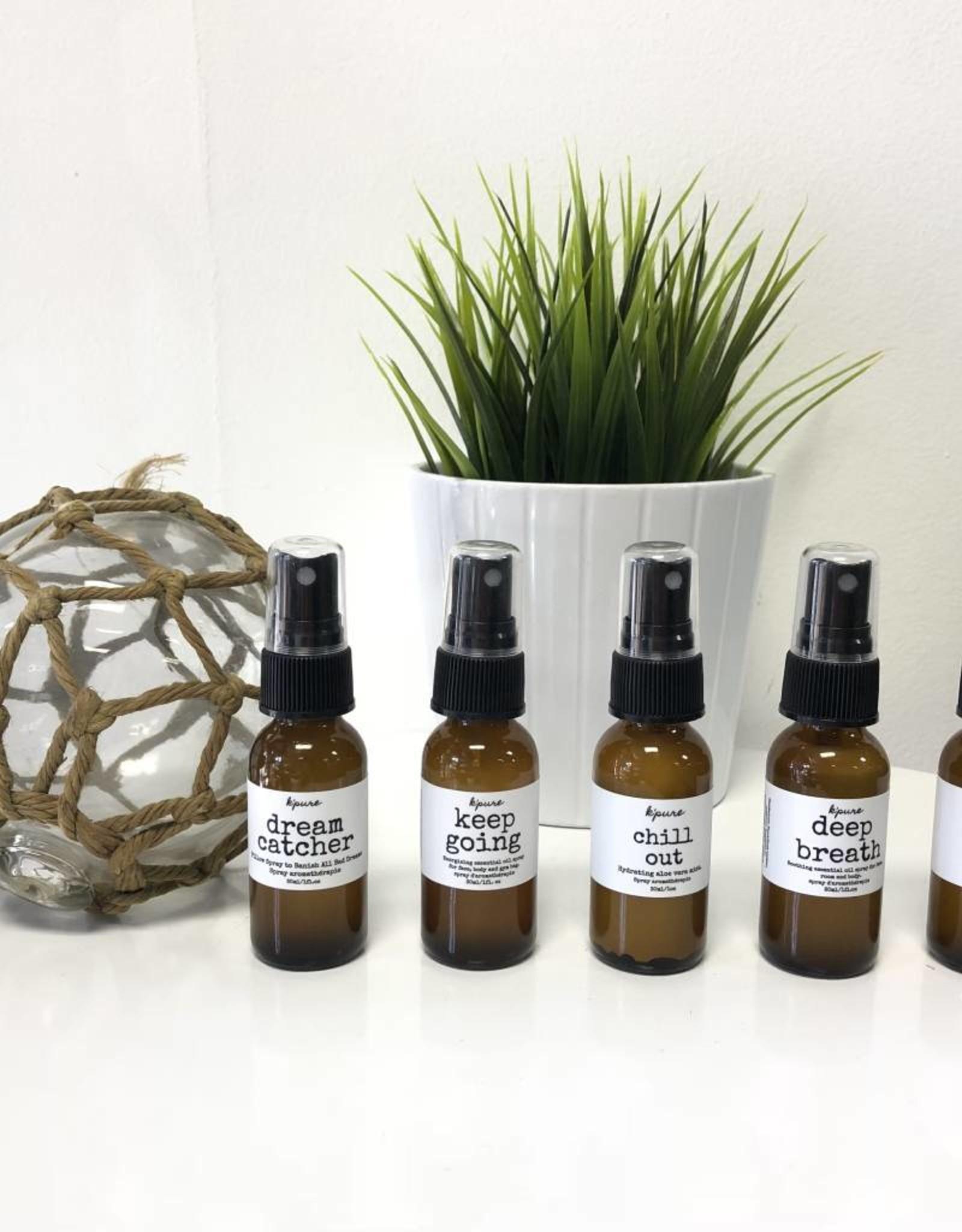 K'PURE DEEP BREATH essential oil spray, 1oz