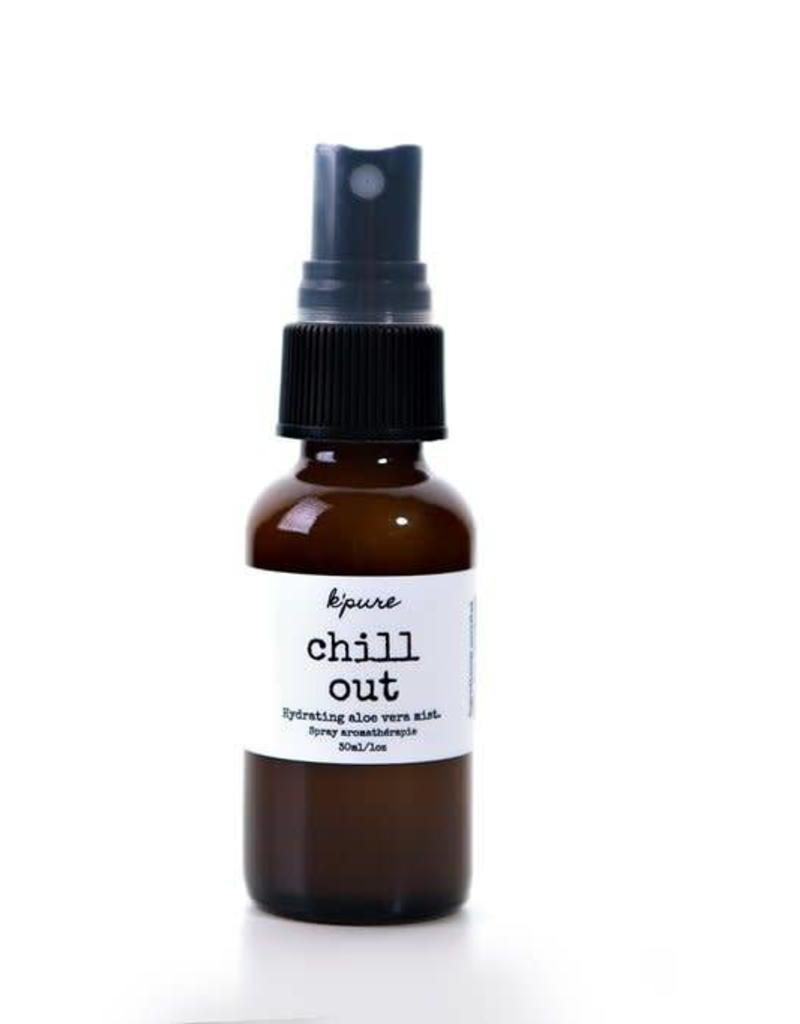 K'PURE CHILL OUT essential oil mists, 1oz