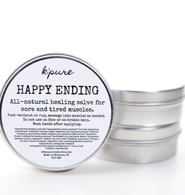 K'PURE HAPPY ENDING healing salve, 0.5oz