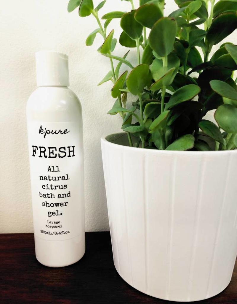 K'PURE FRESH, shower gel, CITRUS, 250ml