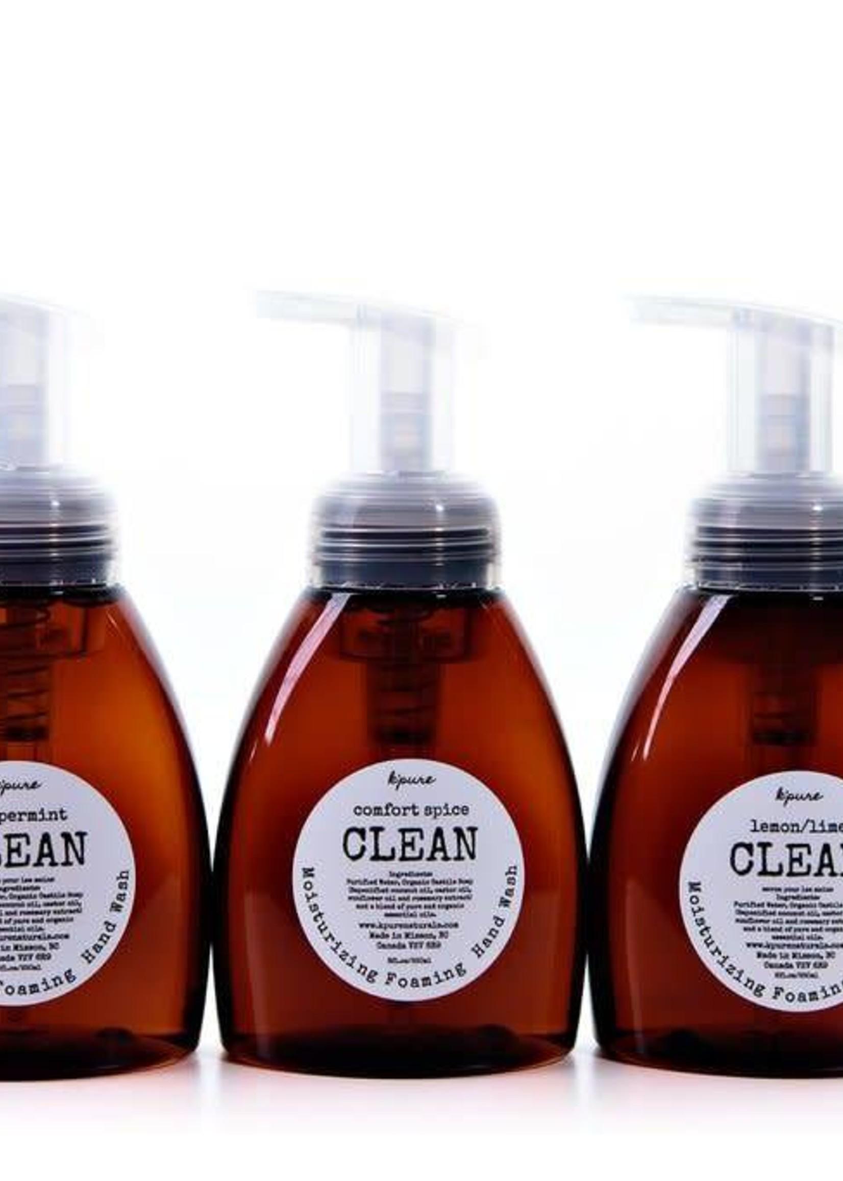 K'PURE K'Pure CLEAN foaming hand wash, 250ml
