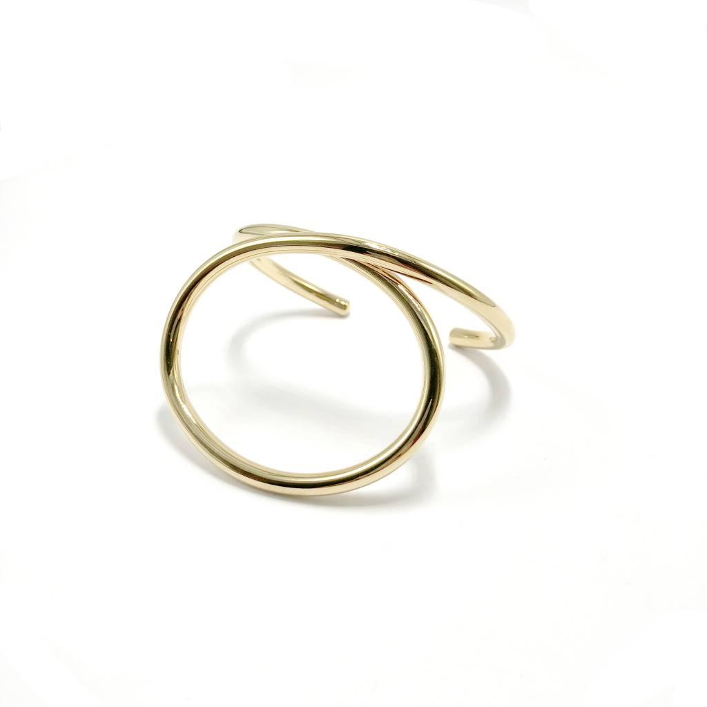 Large Loop Cuff Bracelet