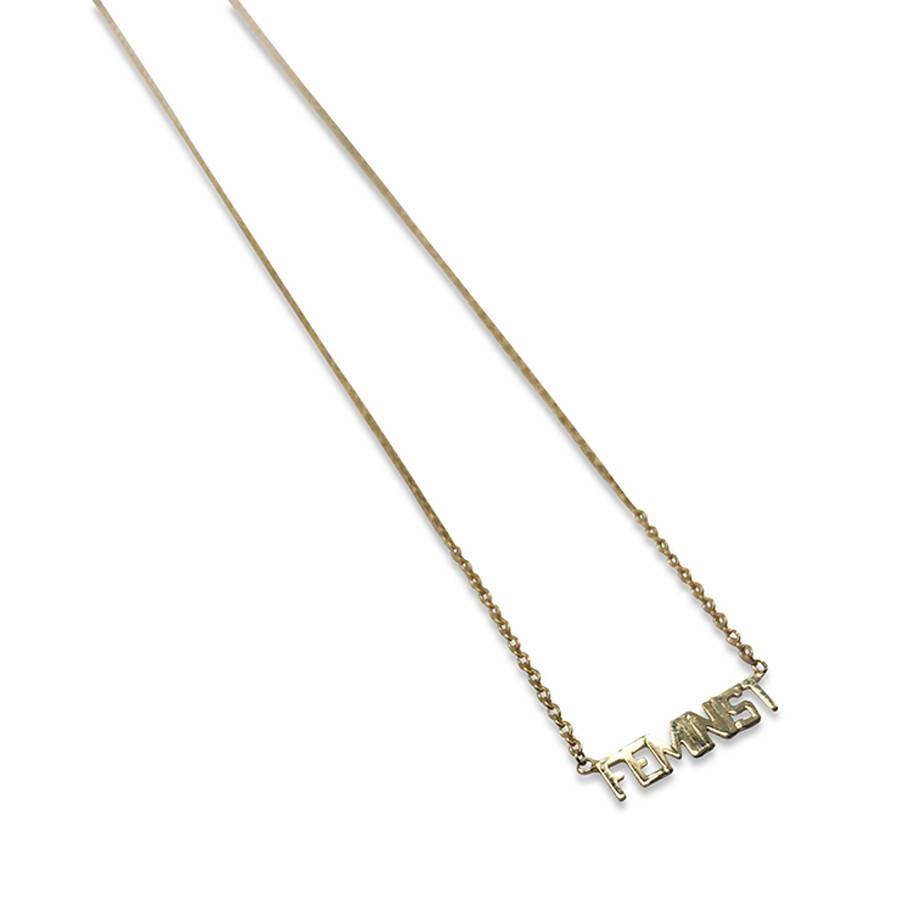 """Feminist"" Necklace"