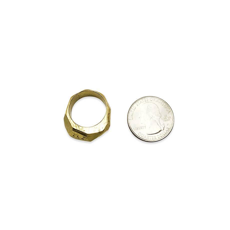 Raw Brass Ring