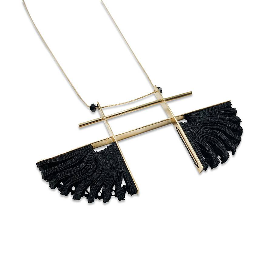 Badari Pyramid Necklace