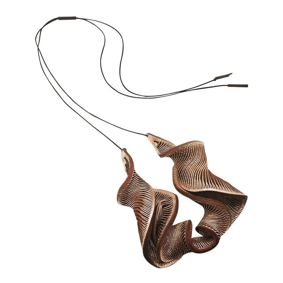 Large Rose Oryx Necklace