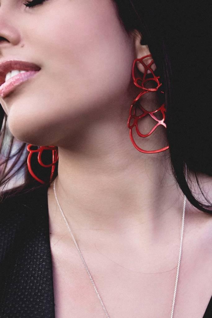 Double Lace Earrings