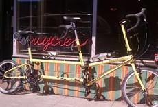 Bike Friday Bike Friday Tandem Two'sDay, BTO, yellow, w/orange cases