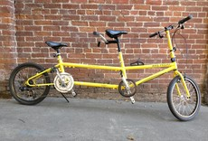 Bike Friday Family Tandem Traveler, Yellow, M captain, s/n 35612